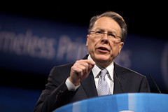 Wayne LaPierre (Gage Skidmore) Tags: harbor dc washington action wayne political rifle maryland national conference conservative lapierre nra association cpac 2013