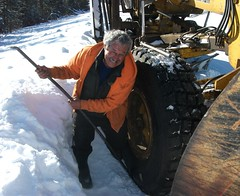 Larry working winter 2013 (Blu, Enid) Tags: larry