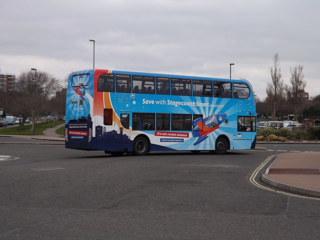 Coastliner 700 PD3 Tags Uk England Bus Buses Smart Pier Hampshire 400