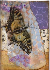 butterfly (donnabelle66) Tags: atc collage butterfly cut paste