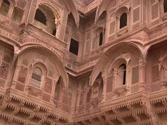 Jodhpur (11) (David OMalley) Tags: city blue india town desert market fort indian palace mausoleum bazaar fortification hindu hinduism rajasthan jodhpur thada bhavan mehrangarh jaswant mahabharata umaid