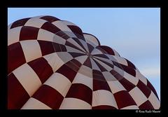 Squared hot air balloon (rrudo) Tags: squared cuadrculado quadriculat balloon globus globo igualada anoia ballooning