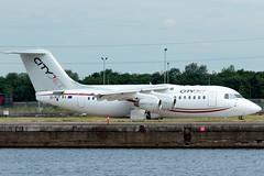 Cityjet - British Aerospace Avro RJ85 - EI-RJT  London City Airport (paulstevenchalmers) Tags: londoncity london lcy airport