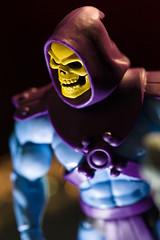 Skeletor (robdunbar) Tags: skeletor heman motu mastersoftheuniverse filmation canon macro 100mm pocketwizard pocketpenledlight cto toys actionfigure 80s cartoon strobist overloadofevil