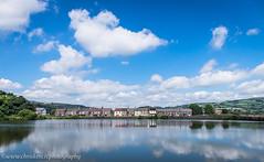 Nantgarw Road (www.chriskench.photography) Tags: wales moat reflection sky travel 18135 xt1 clouds adobe lightroom kenchie wwwchriskenchphotography fujifilm cymru caerphilly unitedkingdom gb england