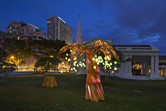 Singapore Night Festival 2016 - Samara by Max Pagel & Jonathan Hwang, Starlight Alchemy (SG) (gintks) Tags: gintaygintks gintks singaporetourismboard singapore sg51 yoursingapore exploresingapore sgnightfest armenianchurch