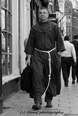 A monk in Leeds city centre. (MAMF photography.) Tags: august blackandwhite blackwhite britain bw biancoenero blancoynegro blanco city england enblancoynegro flickrcom flickr google googleimages gb greatbritain inbiancoenero image leeds ls1 leedscitycentre monk religion mamfphotography mamf monochrome nikon noiretblanc noir negro north nikond7100 northernengland onthestreet photography pretoebranco photo people road sex schwarzundweis schwarz street town uk unitedkingdom upnorth westyorkshire yorkshire zwartenwit zwartwit zwart candid