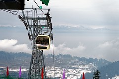 Ropeway (NA.dir) Tags: kashmir vacation travel fun canon g7x fixedlens ps 1in compact camera snow mountains hills gulmarg