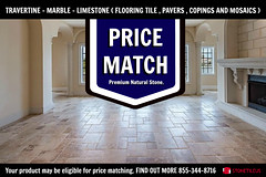 PRICE MATCH TRAVERTINE TILE