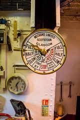 232 - Captain's orders (md93) Tags: 366 telegraph sirwalterscott steamship historic engine room loch katrine trossachs scotland cruises visitor attraction