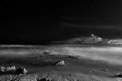 night  on L'Ile Rousse (valerio valeri) Tags: valerio valeri seascape corsica blackandwhite biancoenero long exposure light house stealingshadows