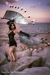 Sierra Martinez - Fire Wings (113 of 114).jpg (Lens Cap Tim Photography) Tags: sally marvel wings fire icarus steel sunset dusk beautiful chicago lakeshore lens cap tim photography nikon d750 tamron 35mm strobist