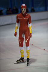 A37W7267 (rieshug 1) Tags: speedskating schaatsen eisschnelllauf skating nkjunioren knsb nkjuniorenallroundafstanden afstanden allround 50010001500massstart demeent alkmaar sportcomplexdemeent juniorenc ladies dames 500m