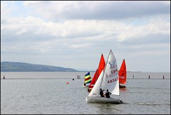 West Kirby Wirral  230816 (35) (over 4 million views thank you) Tags: westkirby wirral lizcallan lizcallanphotography sea seaside beach sand sandy boats water islands people ben bordercollie dog beaches reflections canoes rocks causeway yachts outside landscape seascape