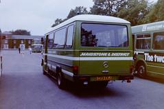 PICT0385 (pjlcsmith2) Tags: busdriveroftheyear brompton barracks md maidstonedistrict mercedes minibus l608d rootes c201ekj privatisation