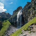 Wasserfall des Schlinigbaches / Rio di Slingia - Schliniger Tal / Valle di Slingia - 160624 thumbnail