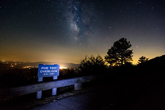 Pine Tree Overlook (y0chang) Tags: pentax yunghanchang k3 milkyway stars astrophotography astronomy landscape blueridgeparkway brp virginia