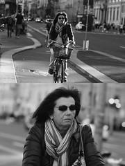 [La Mia Citt][Pedala] (Urca) Tags: milano italia 2016 bicicletta pedalare cicllista ritrattostradale portrait dittico nikondigitale mir bike bicycle biancoenero blackandwhite bn bw 881126