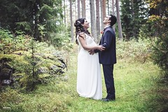 New fresh Family (salas-3) Tags: dress nikon forest outside light couple love photography groom bride wedding