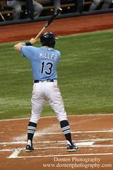Brad Miller (jwdonten) Tags: majorleaguebaseball americanleague tampabayrays tropicanafield bradmiller