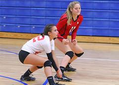 IMG_2943 (SJH Foto) Tags: girls volleyball high school mount olive mt team tween teen teenager varsity libero dig bump burst mode