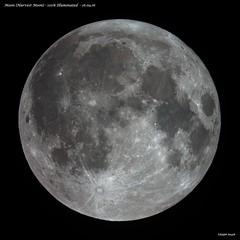 Harvest Full Moon 16.09.16 (Ralph Smyth) Tags: harvest moon