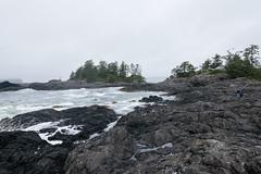 6 Costa rocciosa sulla spiaggia (Ciak88) Tags: tofino nikon d5300