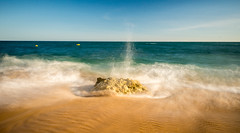 (Attila Pasek) Tags: nd1000 portugal beach longexposuretime rock sea sun sunny wave