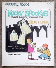 Vintage 1975 Hasbro General Foods Kooky Spookys Concept Production Premium Art (gregg_koenig) Tags: vintage 1975 hasbro general foods kooky spookys concept production premium art 70s 1970s ghost monster