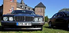 Chasseur, XJ and Burg Zelem... (Pim Stouten) Tags: arden british car auto wagen pkw vhicule macchina burgzelem jag jaguar xj xj6 xj40 x358 chasseur stealth biturbo