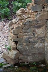 Crumbling Ruin (K.G.Hawes) Tags: meadowlarkbotanicalgardens botanicalgarden garden historic old plants ruins stone building brick bricks cracks cracked crack cracking