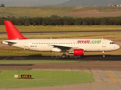 HB-IJZ (Ken Meegan) Tags: hbijz airbusa320211 0211 myair madridbarajas 2152011 madrid barajas airbusa320 airbus a320211 a320 lyvev