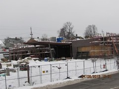 GFH Library Construction Site (Garfield Heights Branch Library) Tags: libraryconstruction ccpl