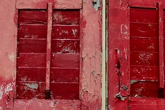 red (pranav_seth) Tags: red window decay 365 project365