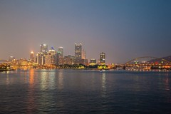The Pittsburgh skyline form the Gateway Clipper HDR (Dave DiCello) Tags: beautiful skyline photoshop nikon pittsburgh tripod usxtower christmastree mtwashington northshore northside bluehour nikkor hdr highdynamicrange pncpark thepoint pittsburghpirates cs4 d600 ftpittbridge steelcity photomatix beautifulcities yinzer cityofbridges tonemapped theburgh clementebridge smithfieldstbridge pittsburgher colorefex cs5 ussteelbuilding beautifulskyline d700 thecityofbridges pittsburghphotography davedicello pittsburghcityofbridges steelscapes beautifulcitiesatnight hdrexposed picturesofpittsburgh cityofbridgesphotography
