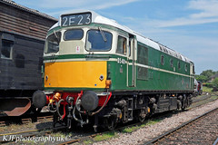 Diesel Locomotive D5401 (27 059), Tenterden, Kent (Dev...Kev (kjfphotographyuk)) Tags: train diesel transport railway loco kesr class27 kenteastsussexrailway 27059 dieselelectriclocomotive d5401 tenterdentownstation