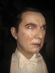 Wax Bela Lugosi Monster Dracula Waxworks 1159 (Brechtbug) Tags: birthday street new york city nyc madame monster museum display manhattan dracula midtown wax bela 42nd tussauds lugosi waxworks 2013 01242013