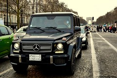 Mercedes Benz G65 AMG (JayR Photos) Tags: black paris france mercedes benz nikon january arab saudi arcdetriomphe champselyses matte amg v12 ksa jayr biturbo 2013 g65 d3100
