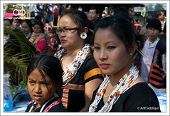 Reh Festival, Roing, Arunachal Pradesh (Arif Siddiqui) Tags: travel girls people india tourism beauty asia culture places tribal jewellery ornament valley tribes tradition ethnic northeast reh arif arunachal dances siddiqui arunachalpradesh northeastindia idu dibang mishimi