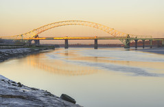 Silver Jubilee Bridge in Gold (Jeffpmcdonald) Tags: uk bridge cheshire runcorn widnes autofocus silverjubileebridge heartawards platinumheartaward goldstaraward nikond7000 jeffpmcdonald mygearandme mygearandmepremium mygearandmebronze mygearandmesilver mygearandmegold mygearandmeaward ringexcellence dblringexcellence tplringexcellence flickrstruereflection1 flickrstruereflection2 flickrstruereflection3 rememberthatmomentlevel4 rememberthatmomentlevel1 feb2013 rememberthatmomentlevel2 rememberthatmomentlevel3 rememberthatmomentlevet3