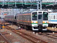Dual EMU sets arrving to Omiya (Matt-san) Tags: japan japanese trains jr tokaido