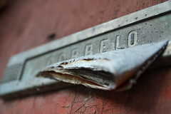 old mailbox (Daniel Lobo photography) Tags: door wood old light england house color home wall architecture mailbox fence outdoors gold holding close post mail box background decoration hard stained letter letterbox concept slot oldfashioned retrorevival