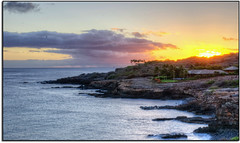 Sunset in Lana'i (scrapping61) Tags: ocean sunset feast hawaii fourseasons legacy vangogh lanai tistheseason manelebay greatphotographers rockpaper 2013 caviardreams scrapping61 digitalmasterpiece covertpainters touchofmagic daarklands legacyexcellence trolledproud artnetcontemporary exoticimage pinnaclephotography poeexcellence digitalartscene fairieswizards