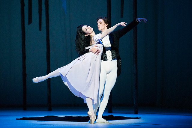 Tamara Rojo as Marguerite and Sergei Polunin as Armand in Marguerite and Armand © ROH/Tristram Kenton, 2013