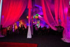 Pink Lighting - Drapery Lighting - Tent Lighting