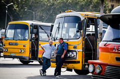 Maltese Bus Drivers (<DXR>) Tags: bus field nikon dof bokeh g 14 85mm malta f2 shallow nikkor depth of d7000