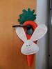 Coelho para maçaneta de porta (Katrin H. Moecke) Tags: verde branco laranja bonito rosa páscoa porta coelho decoração festividades maçaneta