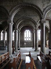 The Galilee Chapel, Durham Cathedral, Durham, England (Hunky Punk) Tags: uk england architecture lady durham churches cathedrals galilee medieval chapels romanesque middleages dogtooth hunkypunk spencermeans
