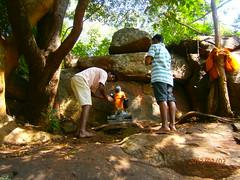 Agathiyar in the hills of Kallar (indianheartbeat) Tags: gnana mataji kallar sarojini vallalar agathiyar tavayogi peedham