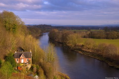 """""""The House by the River"""" (Pensioner Percy, very slow at the moment) Tags: cumbria rivers carlisle edenvalley cumbrian solwayfirth northpennines rivereden wetheral corbycastle d5100 mallerstangcommon nikon18105lens wetheraiviaduct landscapephotographycarlislecumbria"""